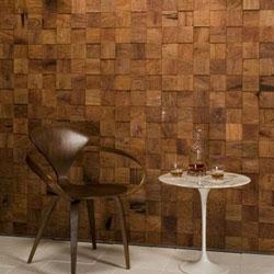 penbentuk dinding kayu