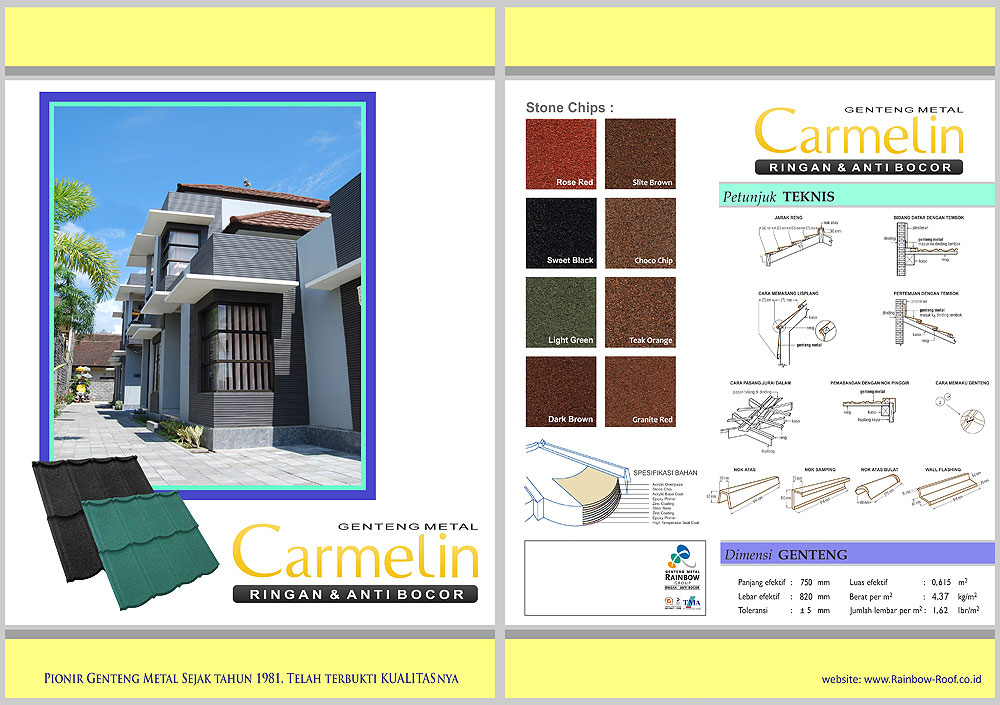 Atap Metal Carmelin