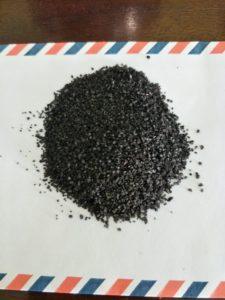 Pasir Silika Genteng Metal Warna Hitam